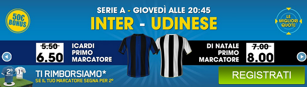 pronostico inter udinese